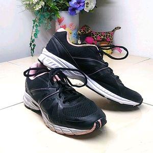 Fila Black & Pink Athletic Sneakers